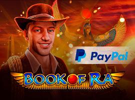 Book of Ra mit PayPal Spielen